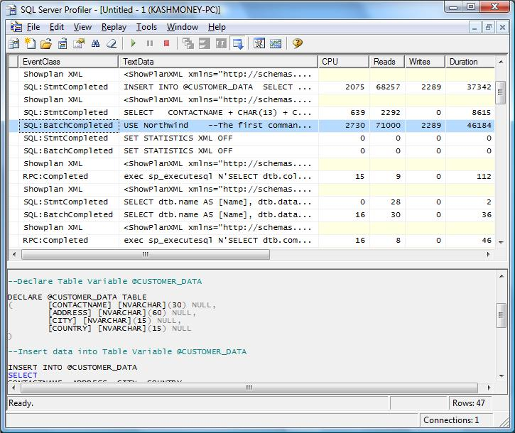 Slacker dba why table variables are better than temporary for Table variable in sql server